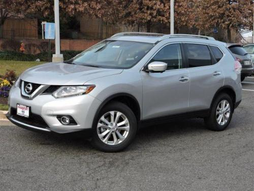 Photo Image Gallery & Touchup Paint: Nissan Rogue in Brilliant Silver   (K23)  YEARS: 2014-2018
