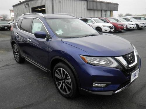 Photo Image Gallery & Touchup Paint: Nissan Rogue in Caspian Blue   (RBY)  YEARS: 2017-2018