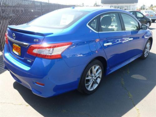 Photo Image Gallery & Touchup Paint: Nissan Sentra in Metallic Blue   (B17)  YEARS: 2013-2015