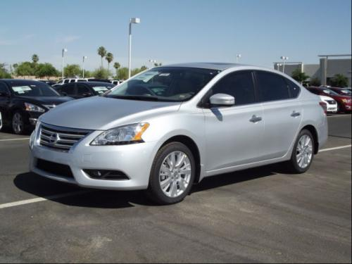 Photo Image Gallery & Touchup Paint: Nissan Sentra in Brilliant Silver   (K23)  YEARS: 2013-2018