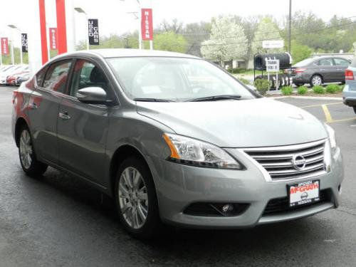 Photo Image Gallery & Touchup Paint: Nissan Sentra in Magnetic Gray   (K36)  YEARS: 2013-2014