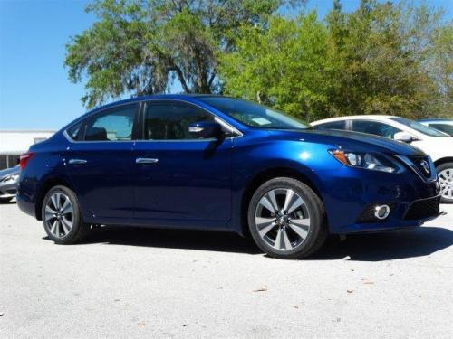 Photo Image Gallery & Touchup Paint: Nissan Sentra in Deep Blue Pearl  (RAY)  YEARS: 2016-2018