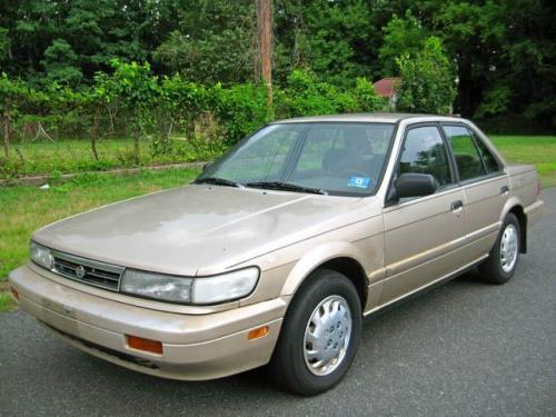 Photo Image Gallery & Touchup Paint: Nissan Stanza in Pebble Beige Metallic  (CG2)  YEARS: 1990-1992