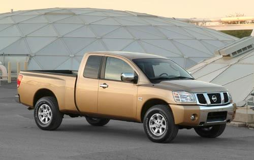 Photo Image Gallery & Touchup Paint: Nissan Titan in Copper    (C10)  YEARS: 2004-2005