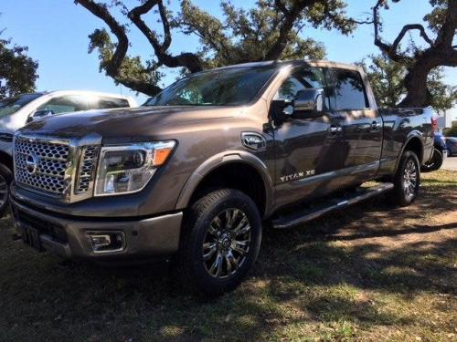Photo Image Gallery & Touchup Paint: Nissan Titan in Java Metallic   (CAJ)  YEARS: 2016-2018