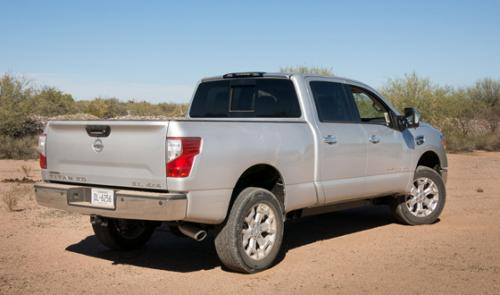 Photo Image Gallery & Touchup Paint: Nissan Titan in Brilliant Silver   (K23)  YEARS: 2016-2018