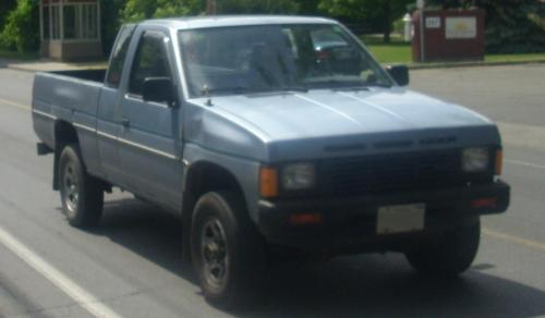 Photo Image Gallery & Touchup Paint: Nissan Truck in Blue Mist Metallic  (106)  YEARS: 1986-1987