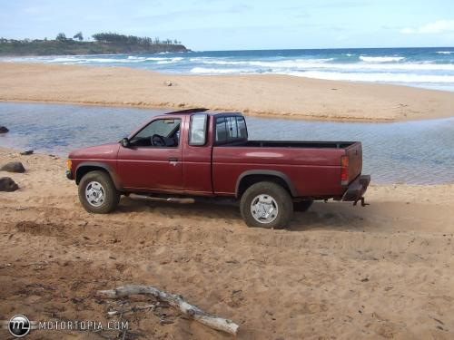 Photo Image Gallery & Touchup Paint: Nissan Truck in Dark Red Metallic  (329)  YEARS: 1986-1987
