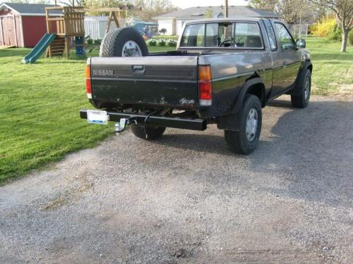 Photo Image Gallery: Nissan Truck in Medium Pewter On Thunder (385)  YEARS: -