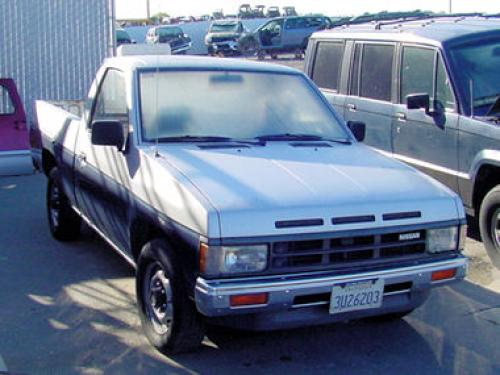 Photo Image Gallery: Nissan Truck in Silver Frost On Solar (3G8)  YEARS: -