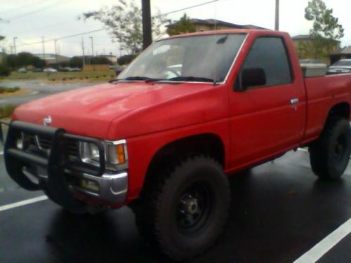 Photo Image Gallery & Touchup Paint: Nissan Truck in Ultra Red   (AJ4)  YEARS: 1993-1993