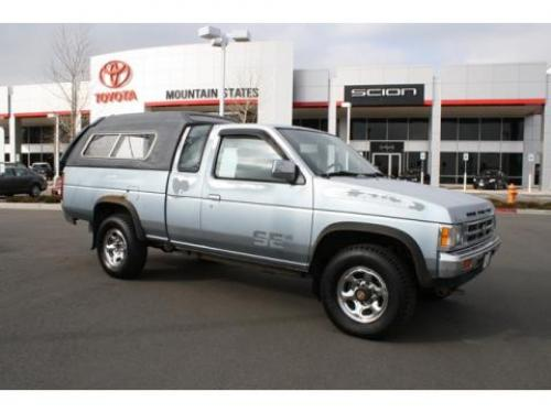 Photo Image Gallery & Touchup Paint: Nissan Truck in Winter Blue Metallic  (BG6)  YEARS: 1990-1992