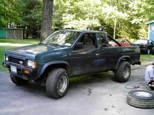 Photo Image Gallery & Touchup Paint: Nissan Truck in Solar Blue Metallic  (BG7)  YEARS: 1988-1989