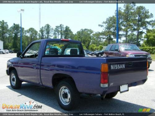 Photo Image Gallery & Touchup Paint: Nissan Truck in Royal Blue   (BR1)  YEARS: 1995-1996