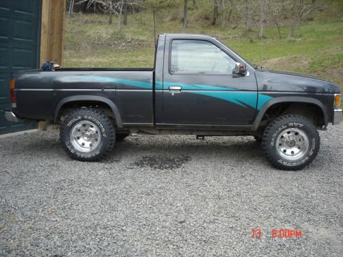 Photo Image Gallery & Touchup Paint: Nissan Truck in Slate Gray Pearl  (KJ5)  YEARS: 1993-1994