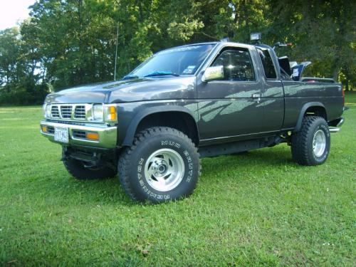 Photo Image Gallery & Touchup Paint: Nissan Truck in Anthracite Gray   (KK0)  YEARS: 1995-1997
