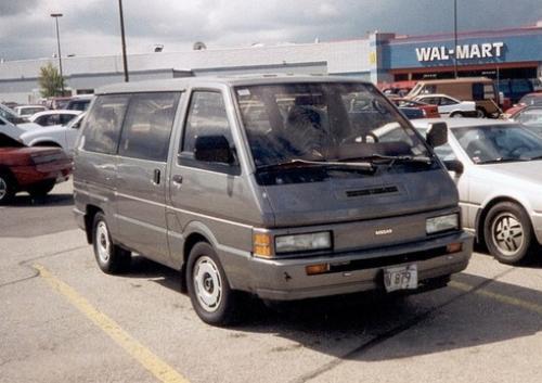 Photo Image Gallery & Touchup Paint: Nissan Van in Dark Gray Metallic  (463)  YEARS: 1987-1990