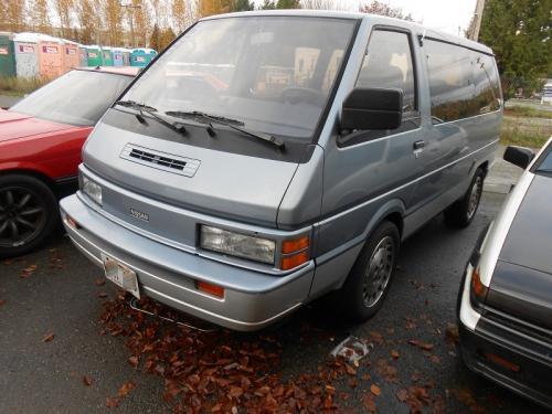 Photo Image Gallery: Nissan Van in Medium Blue On Platinum (556)  YEARS: -