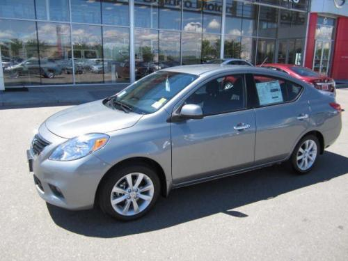 Photo Image Gallery & Touchup Paint: Nissan Versa in Magnetic Gray   (K36)  YEARS: 2012-2014