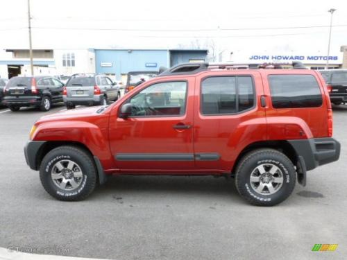 Photo Image Gallery & Touchup Paint: Nissan Xterra in Lava Red   (EAF)  YEARS: 2011-2011