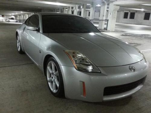 Photo Image Gallery & Touchup Paint: Nissan Z in Liquid Aluminum   (K25)  YEARS: 2004-2004