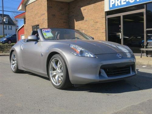 Photo Image Gallery & Touchup Paint: Nissan Z in Platinum Graphite   (K51)  YEARS: 2009-2010