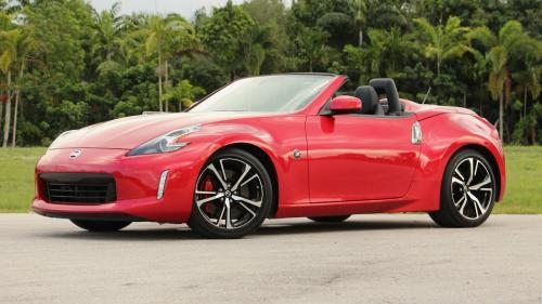 Photo Image Gallery & Touchup Paint: Nissan Z in Passion Red   (NBA)  YEARS: 2018-2018