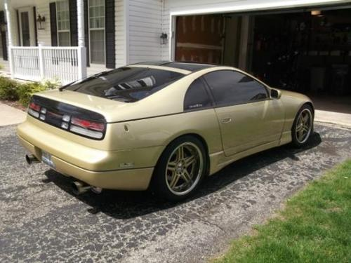 Photo Image Gallery & Touchup Paint: Nissan Z in Gold Pearl   (EJ0)  YEARS: 1990-1990