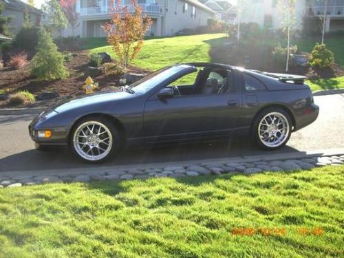 Photo Image Gallery & Touchup Paint: Nissan Z in Charcoal Pearl   (KH2)  YEARS: 1990-1991