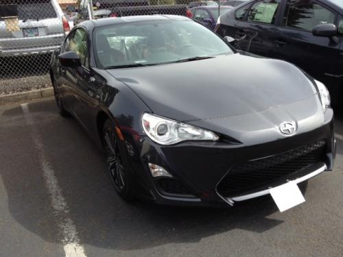 Photo Image Gallery & Touchup Paint: Scion Frs in Raven    (D4S)  YEARS: 2013-2018