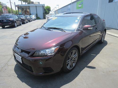 Photo Image Gallery & Touchup Paint: Scion TC in Sizzling Crimson Mica  (3R0)  YEARS: 2011-2013
