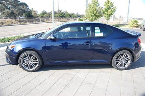 Photo Image Gallery & Touchup Paint: Scion TC in Nautical Blue Metallic  (8S6)  YEARS: 2011-2013