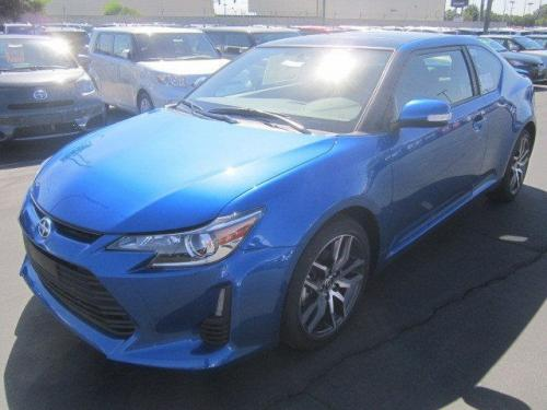Photo Image Gallery & Touchup Paint: Scion TC in Blue Streak Metallic  (8T7)  YEARS: 2014-2016