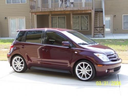 Photo Image Gallery & Touchup Paint: Scion XA in Black Cherry Pearl  (3P2)  YEARS: 2004-2005