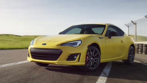 Photo Image Gallery & Touchup Paint: Subaru Brz in Charlesite Yellow   (NAD)  YEARS: 2017-2017