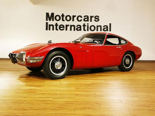 Photo Image Gallery & Touchup Paint: Toyota 2000gt in Solar Red   (T1297)  YEARS: 1967-1967