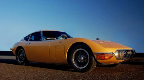 Photo Image Gallery & Touchup Paint: Toyota 2000gt in Bellatrix Yellow   (T1429)  YEARS: 1967-1968