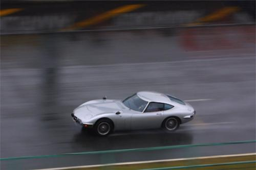 Photo Image Gallery & Touchup Paint: Toyota 2000gt in Thunder Silver   (T2308)  YEARS: 1967-1969