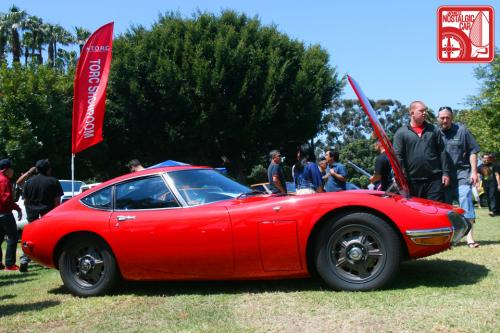 Photo Image Gallery & Touchup Paint: Toyota 2000gt in Solar Red   (T2310)  YEARS: 1967-1969