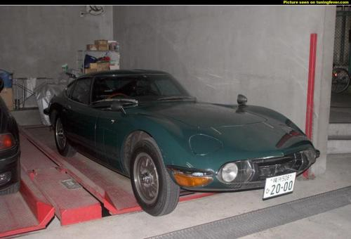 Photo Image Gallery & Touchup Paint: Toyota 2000gt in Atlantis Green   (T4140)  YEARS: 1969-1970