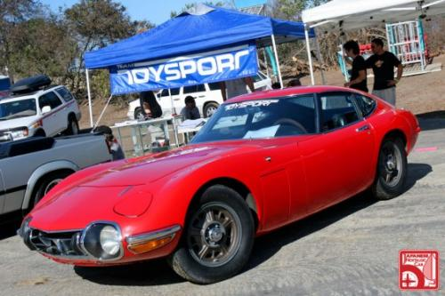 Photo Image Gallery & Touchup Paint: Toyota 2000gt in Solar Red   (T4146)  YEARS: 1969-1969