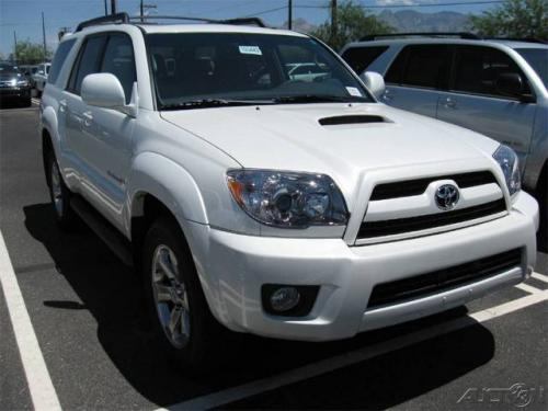 Photo Image Gallery & Touchup Paint: Toyota 4runner in Blizzard Pearl   (070)  YEARS: 2008-2009