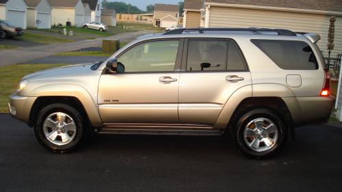 Photo Image Gallery & Touchup Paint: Toyota 4runner in Dorado Gold Pearl  (587)  YEARS: 2003-2005