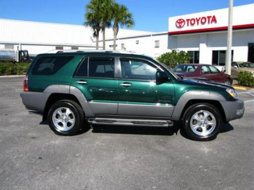 Photo Image Gallery & Touchup Paint: Toyota 4runner in Imperial Jade Mica  (6Q7)  YEARS: 2003-2003
