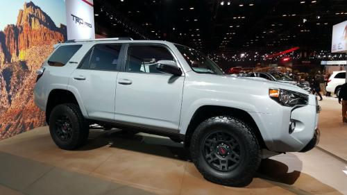Photo Image Gallery & Touchup Paint: Toyota 4runner in Cement    (1H5)  YEARS: 2017-2017