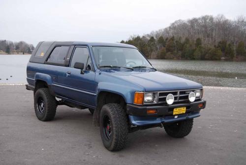 Photo Image Gallery & Touchup Paint: Toyota 4runner in Medium Blue Metallic  (8D7)  YEARS: 1988-1989