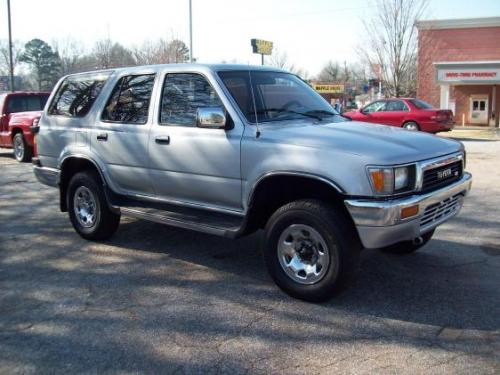 Photo Image Gallery & Touchup Paint: Toyota 4runner in Silver Metallic   (147)  YEARS: 1990-1992