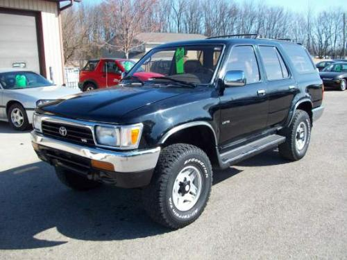 Photo Image Gallery & Touchup Paint: Toyota 4runner in Black    (202)  YEARS: 1990-1995