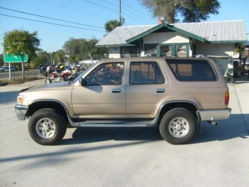 Photo Image Gallery & Touchup Paint: Toyota 4runner in Sierra Beige Metallic  (4M4)  YEARS: 1994-1995