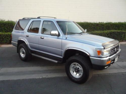 Photo Image Gallery & Touchup Paint: Toyota 4runner in Glacier Blue Metallic  (8J8)  YEARS: 1994-1995
